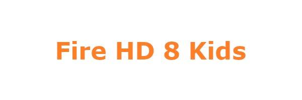 Fire HD 8 Kids