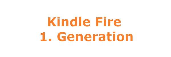 Kindle Fire 1. Gen