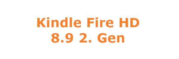 Kindle Fire HD 8.9 2. Gen