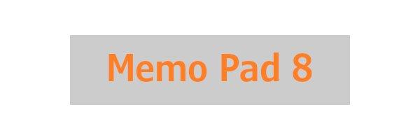 Memo Pad 8
