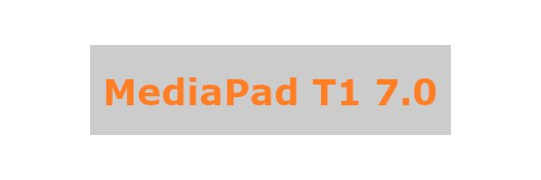 MediaPad T1 7.0