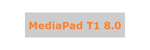MediaPad T1 8.0