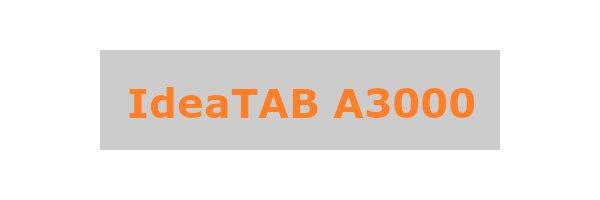 IdeaTab A3000