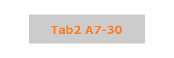 Tab2 A7-30