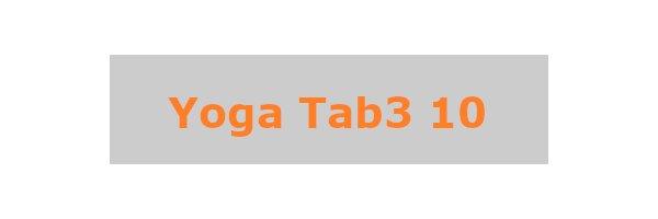 Yoga Tab3 10