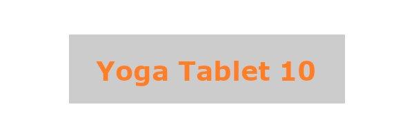 Yoga Tablet 10