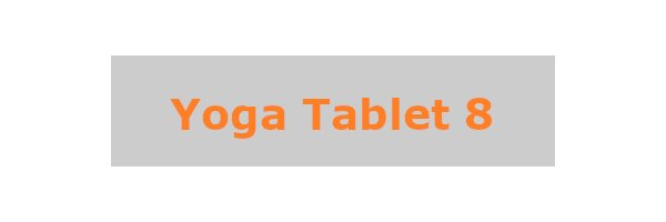 Yoga Tablet 8