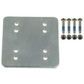 RAM Mounts Gegenplatte für Wandhalterungen - 50,8 x 63,5 mm, Schrauben-Set, im Polybeutel