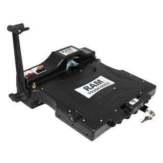 RAM Mounts Tough-Tray Halteschale (Kunststoff) für GETAC B300 Laptops - AMPS-Aufnahme