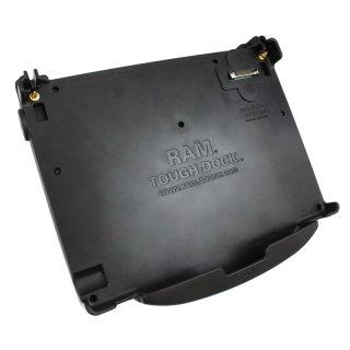 RAM Mounts Tough-Dock Halteschale für Panasonic Toughbook CF-52 - mit Stromversorgung u. Parallel-Port
