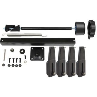 RAM Mounts Sicherungs-Kit N-Motion für Tough-Tray Halterungen - inkl. 4 flachen Seitenarmen, im Polybeutel