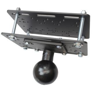 RAM Mounts Über-Kopf-Basis mit VESA-Platte für Gabelstapler - E-Kugel (3,38 Zoll)