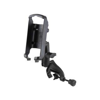 RAM Mounts Rohr-Halterung für Garmin 76C Geräte - mit Steuerhornklammer, B-Kugel (1 Zoll), im Polybeutel