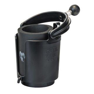 RAM Mounts Getränkehalter - schwenkbar, mit B-Kugel (1 Zoll), im Polybeutel