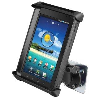 RAM Mounts Wandhalterung für 7 Zoll Tablets - mit runder Basisplatte (AMPS), Gegenplatte, B-Kugel (1 Zoll), im Polybeutel