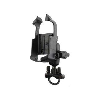 RAM Mounts Lenker-Halterung für Garmin eTrex Color Geräte - mit Rohrschelle, B-Kugel (1 Zoll)