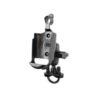 RAM Mounts Lenker-Halterung für Garmin Rino 500 - mit Rohrschelle, B-Kugel (1 Zoll)