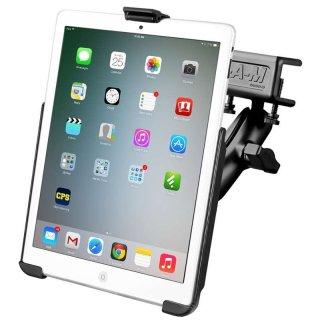 RAM Mounts Panelhalterung für Apple iPad mini 1-3 - mit Panelklammer, B-Kugel (1 Zoll), im Polybeutel