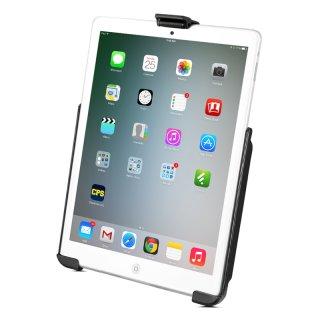 RAM Mounts Gerätehalteschale für Apple iPad mini 1-3 (ohne Schutzhüllen/-gehäuse) mit runder Basisplatte - AMPS, B-Kugel (1 Zoll), im Polybeutel