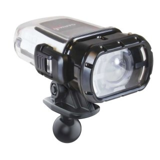 RAM Mounts Kamera-Adapter für Garmin Unterwassergehäuse (VIRB Kameras) - B-Kugel (1 Zoll), im Polybeutel