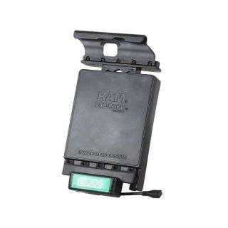 RAM Mounts GDS Dockingstation Samsung Galaxy Tab S2 (8.0) in IntelliSkin-Lade-/Schutzhüllen - abschließbar, Stromanbindung , AMPS-Aufnahme