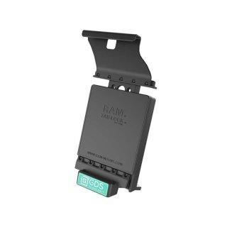 RAM Mounts GDS Dockingstation Samsung Galaxy Tab S2 (9.7) in IntelliSkin-Lade-/Schutzhüllen - abschließbar, Stromanbindung , AMPS-Aufnahme