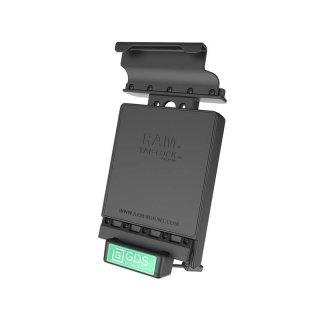RAM Mounts GDS Dockingstation Samsung Galaxy Tab E (8.0) in IntelliSkin-Lade-/Schutzhüllen - abschließbar, Stromanbindung , AMPS-Aufnahme