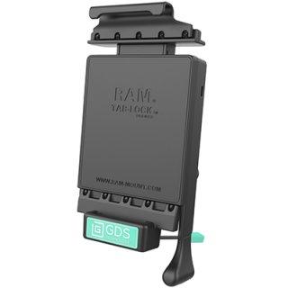 RAM Mounts GDS Dockingstation Samsung Galaxy Tab A (7.0) in IntelliSkin-Lade-/Schutzhüllen - abschließbar, Stromanbindung , AMPS-Aufnahme