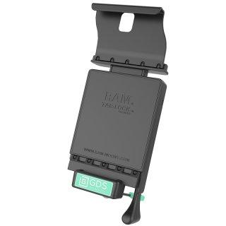 RAM Mounts GDS Dockingstation Samsung Galaxy Tab S3 (9.7) in IntelliSkin-Lade-/Schutzhüllen - abschließbar, Stromanbindung , AMPS-Aufnahme