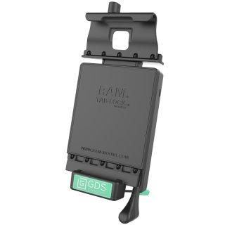 RAM Mounts GDS Dockingstation Samsung Galaxy Tab A 8.0 (2017) in IntelliSkin-Lade-/Schutzhüllen - abschließbar, Stromanbindung, AMPS-Aufnahme