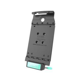 RAM Mounts Universal Tab-Tite Halteschale mit GDS-Ladesockel - für LG G Pad (F 8.0) in IntelliSkin-Lade-/Schutzhülle, inkl. Stromanbindung, im Polybeutel