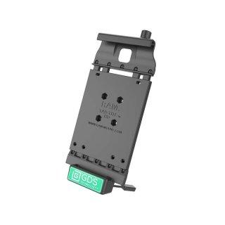 RAM Mounts Universal Tab-Tite Halteschale mit GDS-Ladesockel - für Samsung Tab 4 (8.0) in IntelliSkin-Lade-/Schutzhülle, inkl. Stromanbindung, im Polybeutel