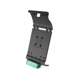 RAM Mounts Universal Tab-Tite Halteschale mit GDS-Ladesockel - für Samsung Tab S2 (9.7) in IntelliSkin-Lade-/Schutzhülle, inkl. Stromanbindung, im Polybeutel