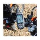 RAM Mounts Gerätehalteschale für Garmin GPS 60er Serie (ohne Schutzhüllen) - Diamond-Anbindung (Trapez), Schrauben-Set, im Polybeutel