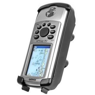 RAM Mounts Gerätehalteschale für Garmin GPS 76C Serie (ohne Schutzhüllen) - Diamond-Anbindung (Trapez), Schrauben-Set