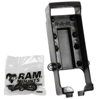 RAM Mounts Gerätehalteschale für Garmin 12 Serie (ohne Schutzhüllen) - Diamond-Anbindung (Trapez), Schrauben-Set, im Polybeutel