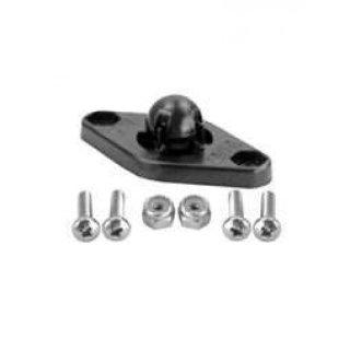 RAM Mounts Adapter für original Garmin-Halterungen - Diamond-Anbindung (Trapez), Schrauben-Set, im Polybeutel