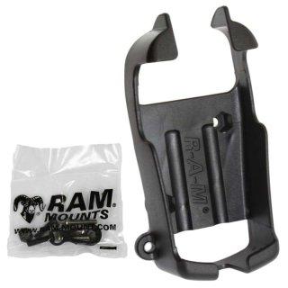 RAM Mounts Gerätehalteschale für Garmin eTrex s/w Geräte (ohne Schutzhüllen) - Diamond-Anbindung (Trapez), Schrauben-Set