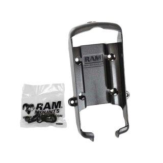 RAM Mounts Gerätehalteschale für Garmin GPS 76er Serie (ohne Schutzhüllen) - Diamond-Anbindung (Trapez), Schrauben-Set