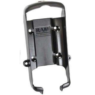 RAM Mounts Gerätehalteschale für Garmin GPS 76er Serie (ohne Schutzhüllen) - Diamond-Anbindung (Trapez), Schrauben-Set, im Polybeutel