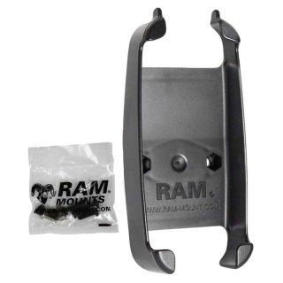 RAM Mounts Gerätehalteschale für Lowrance iFinder H20 (ohne Schutzhüllen) - Diamond-Anbindung (Trapez), Schrauben-Set