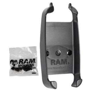 RAM Mounts Gerätehalteschale für Lowrance iFinder H20 (ohne Schutzhüllen) - Diamond-Anbindung (Trapez), Schrauben-Set, im Polybeutel