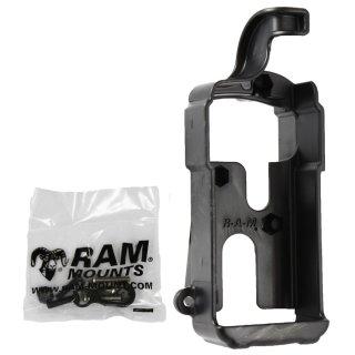 RAM Mounts Gerätehalteschale für Magellan 12/310/315/320 (ohne Schutzhüllen) - Diamond-Anbindung (Trapez), Schrauben-Set, im Polybeutel