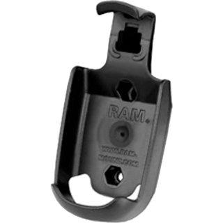 RAM Mounts Gerätehalteschale für Magellan eXplorist 100/200/210/300/400/500/500LE/600 (ohne Schutzhüllen) - Diamond-Anbindung (Trapez), Schrauben-Set, im Polybeutel