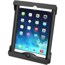 RAM Mounts Universal Tab-Tite Halteschale für Apple iPad Air 1-2/ 9.7 (mit Schutzgehäusen/-hüllen) - AMPS-Aufnahme, Schrauben-Set, im Polybeutel