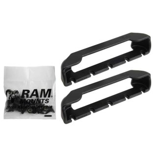 RAM Mounts Tab-Tite Endkappen für 7 Zoll Tablets (in Schutzgehäusen) - Schrauben-Set, im Polybeutel