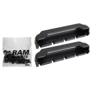 RAM Mounts Tab-Tite Endkappen für 7 Zoll Tablets inkl. Samsung Tab 4 7.0 (ohne Schutzgehäuse/-hüllen) - Schrauben-Set, im Polybeutel