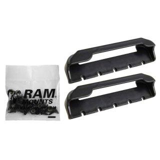 RAM Mounts Tab-Tite Endkappen für 7-8 Zoll Tablets (in Schutzgehäusen) - Schrauben-Set, im Polybeutel