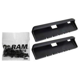 RAM Mounts Tab-Tite Endkappen für 10 Zoll Tablets inkl. Samsung Tab 4 10.1/Tab S 10.5 (mit Otterbox Defender Case) - Schrauben-Set, im Polybeutel