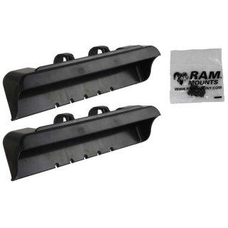 RAM Mounts Tab-Tite Endkappen für Panasonic Toughpad FZ-A1 (in Schutzgehäusen) - Schrauben-Set, im Polybeutel